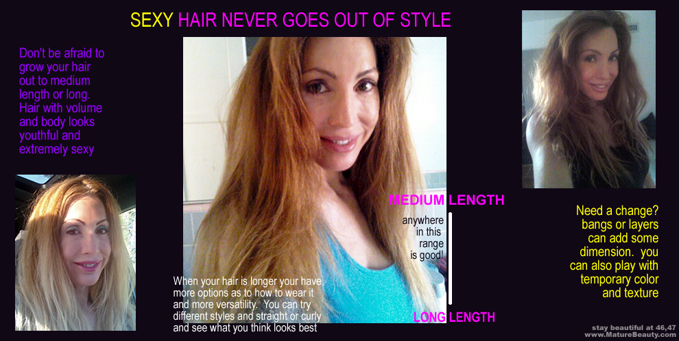 flattering hairstyles, haircuts, hair extensions, long hair, full hair