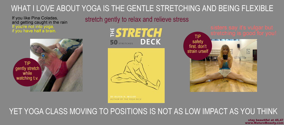 Yoga Stretch Deck