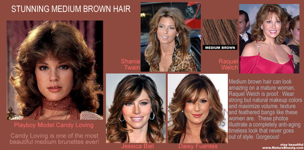 Top 5 Celebrity Brunette Hair Women