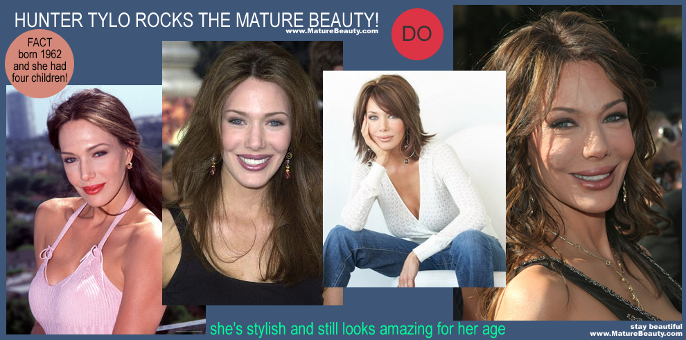 Hunter Tylo Mature Gorgeous Over Forty Celebrity