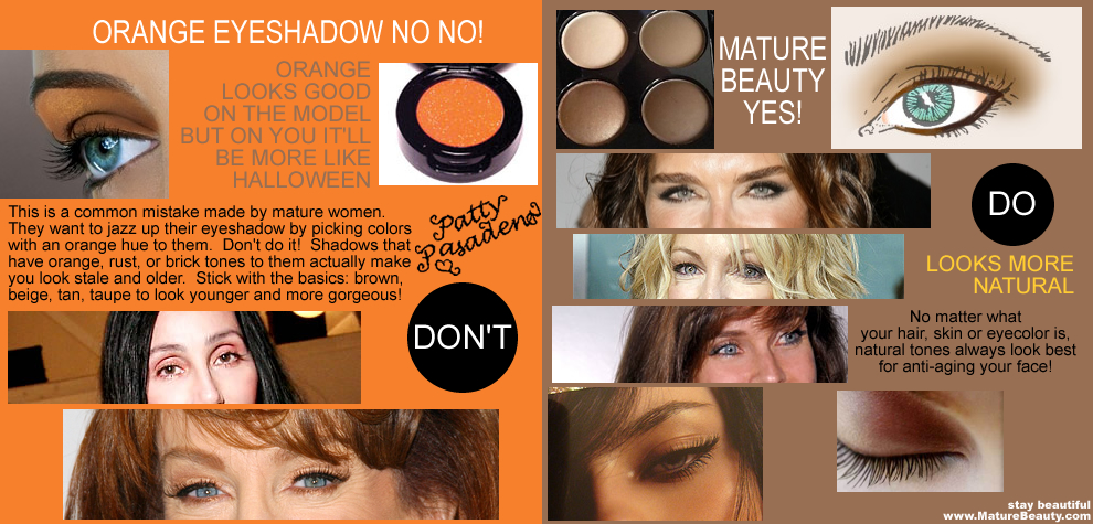 mature makeup, mature beauty tips, mature beauty advice, avon makeup, avon makeup for mature women, best colors for mature skin, eyeshadow for mature skin, brown beige eyeshadow, best tan taupe eyeshadow, look younger with makeup, how to look younger, become gorgeous