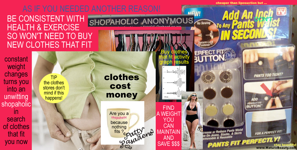 clothes that fit, pants too tight, healthy weight range, maintain weight loss, how to buy pants for women, how hard it is to shop for clothes, where to buy clothes that fit, spending money on clothes, save money on clothes, weight and clothes, flattering clothes for women, buying ladies pants