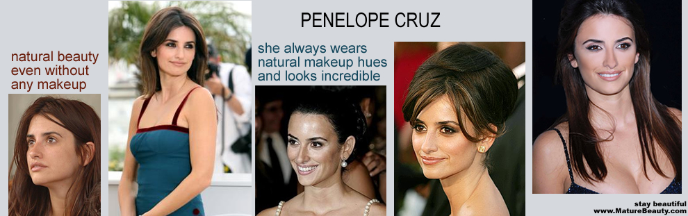 natural cosmetics, how to do makeup, basic face, natural looking makeup, perfect flawless foundation, best makeup colors, penelope cruz, penelope cruz natural beauty, natural beauty advice, look natural in makeup, classy makeup looks