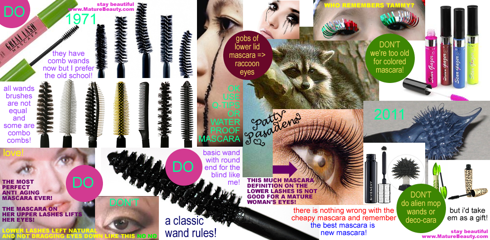 makeup mascara, best mascara, channel mascara, givenchy mascara, mascara brushes, mascara comb, mascara tips, how to apply mascara, maybelline great lash mascara, make your eyes look younger, hide your eye wrinkles, minimize eyewrinkles, anti-aging makeup