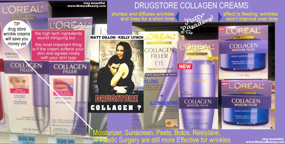 loreal, collagen cream, collagen filler, filler cream, revitol, pro collagen