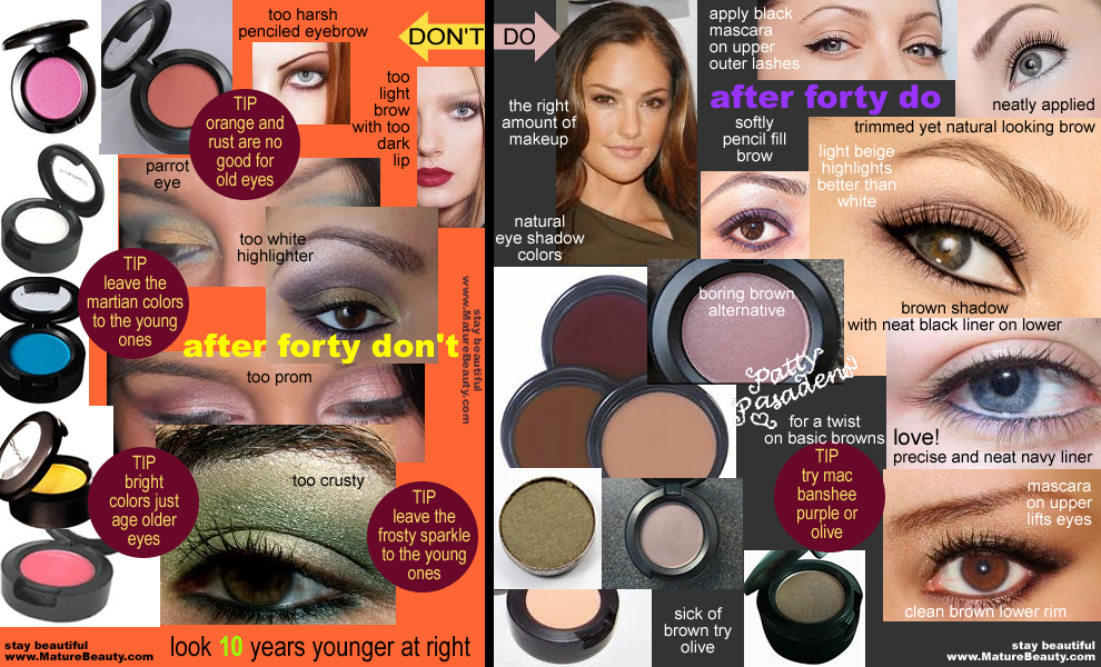 Best eye makeup for over 50